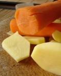 mrkva a zamiaky