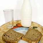 mlieko a chlieb