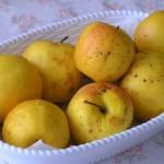 Pečená jablíčka jako horký zimní dezert