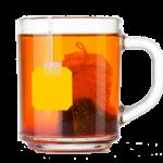 Vesničané kupují bylinkové čaje ve městě