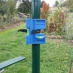 Kolmé sloupy pro ploty jsou důležité