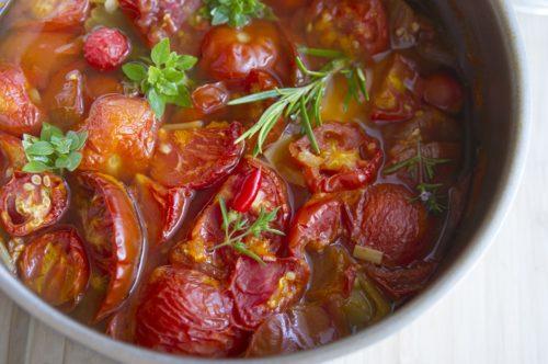 veganská polévka